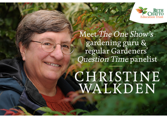 """You'll never do well but I did!"" A Gardener's Tale by Christine Walkden - General Admission ticket"