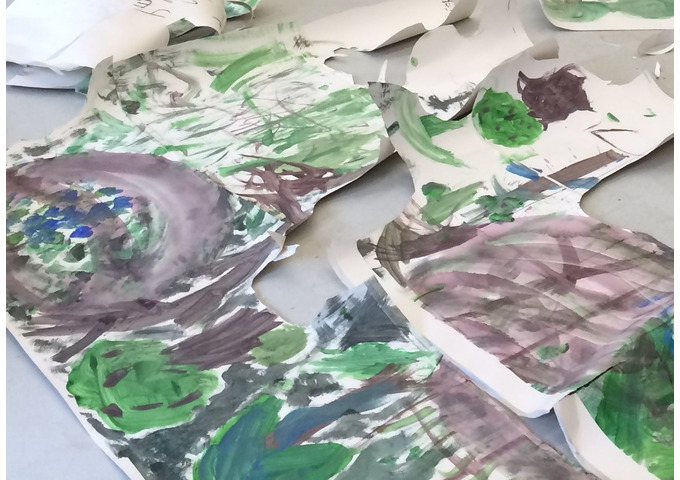 Big Colourful Garden! Free Drop in Art Session