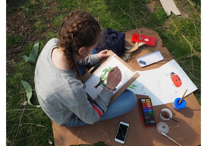 Green Art Academy - Garden Art Drop off Day for older Children