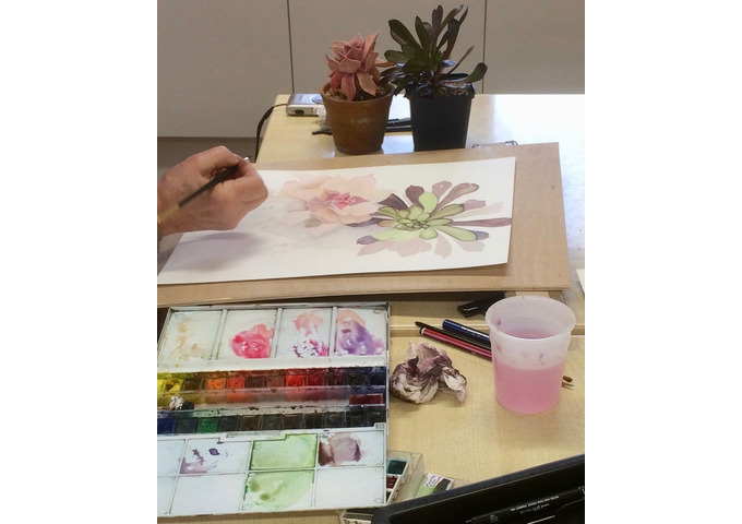 Painting Natural Forms