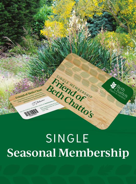 Friend of Beth Chatto's seasonal pass