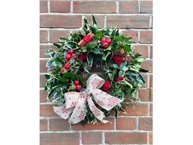 Foliage Wreaths and Christmas Arrangements