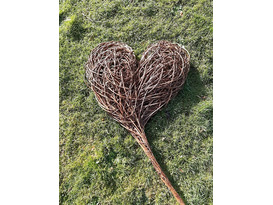 Rustic Willow Heart Workshop