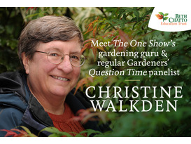 """""""You'll never do well but I did!"""" A Gardener's Tale by Christine Walkden - General Admission ticket"""