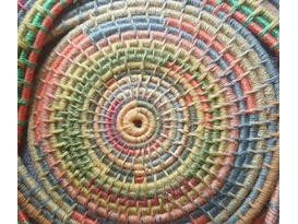 Weaving a Coiled Platter