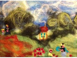 Felt Picture Artists! Family Garden Workshop Children 10yr+