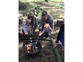Forest School Froglets 1 -  Pre-school Family Forest School
