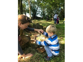 Forest School Froglets 3 - Pre-school Family Forest School