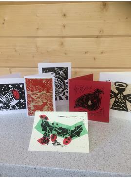 Christmas  Card Lino Printing Workshop
