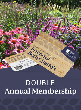 Friend of Beth Chatto's seasonal pass double