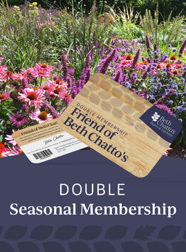 Friend of Beth Chatto's double seasonal pass