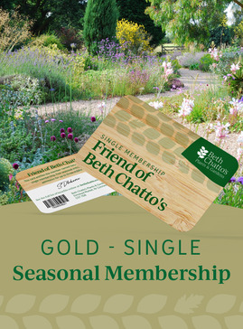 Friend of Beth Chatto's seasonal pass Gold Card