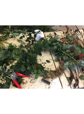 CANCELLED- Christmas Wreaths