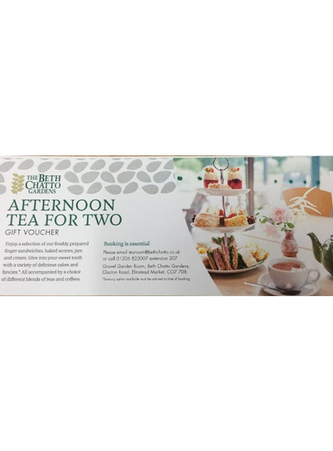Afternoon Tea for Two Voucher