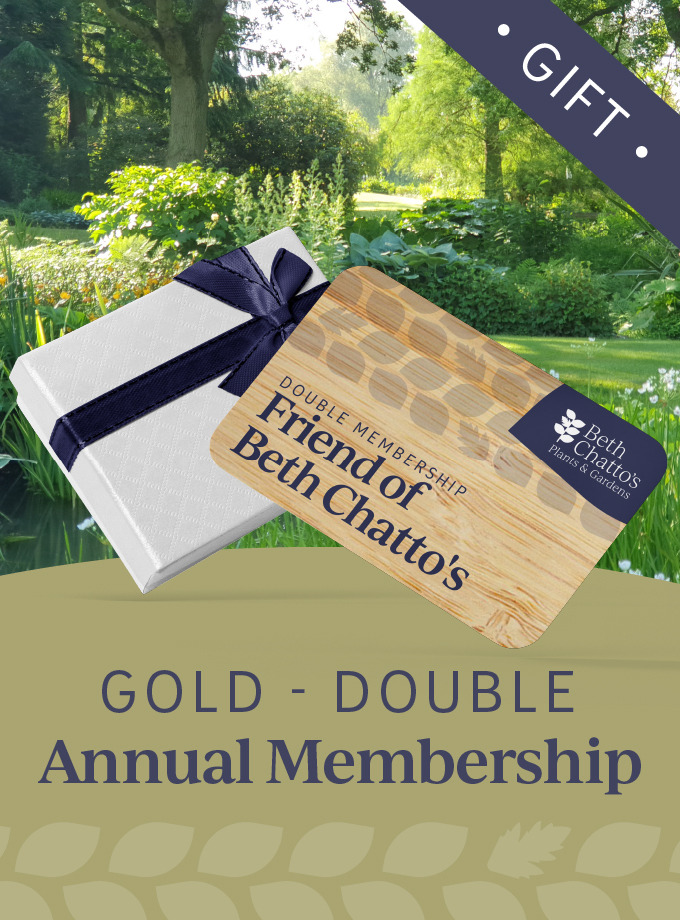 Friend of Beth Chatto's annual pass Gold Card Double Gift