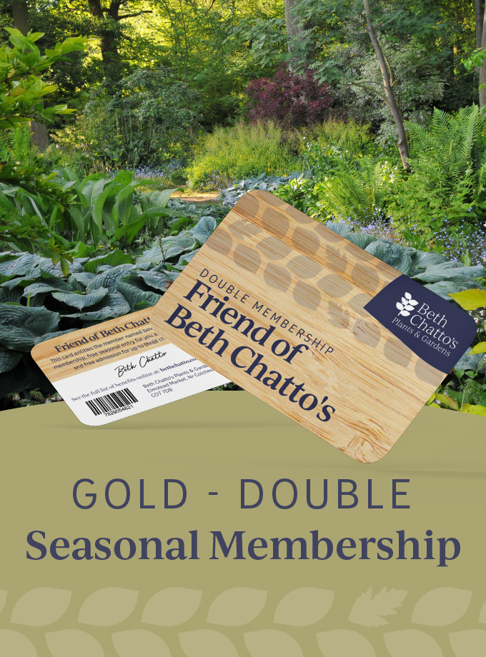 Friend of Beth Chatto's seasonal pass Gold Card Double