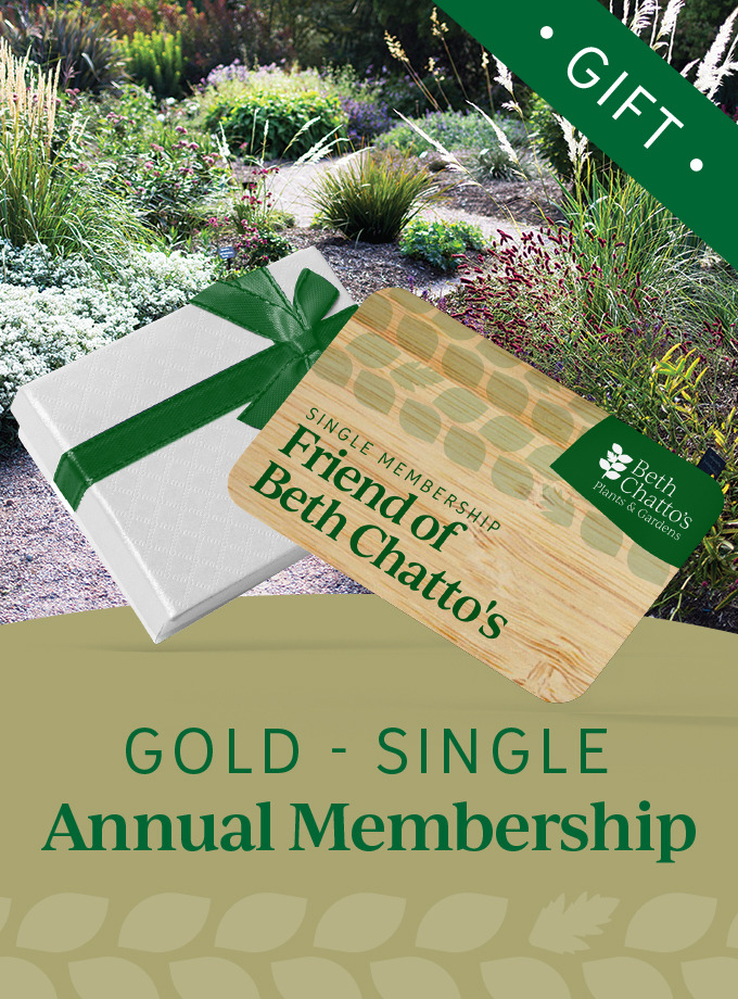 Friend of Beth Chatto's seasonal pass Gold Card Gift