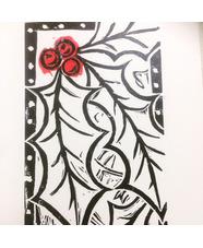 Handprinted Lino Cut Christmas Workshop